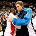 عکس NBA-دیرک نویتزکی-دوین وید