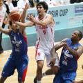 بسکتبال کاپ آسیا-محمد جمشیدی