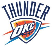تیم های NBA-لوگوی اکلاهاما سیتی تاندر