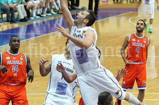 بسکتبال قهرمانی باشگاه های آسیا؛برد فولاد ماهان مقابل الحلا