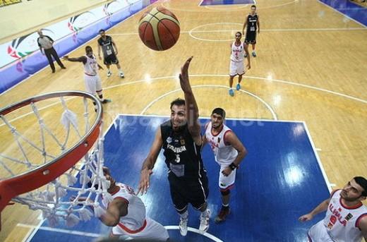 حامد حدادی-نتایج نیمه نهایی بسکتبال باشگاه های آسیا در سال 2013