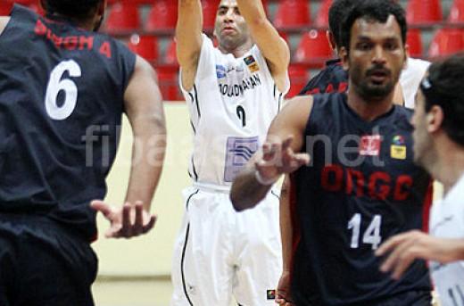مهدی کامرانی-نتایج یک چهارم نهایی بسکتبال باشگاه های آسیا در سال 2013