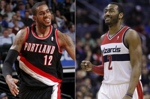 انتخاب جان وال و لامارکوس آلدریج به عنوان بازیکنان برتر هفته NBA
