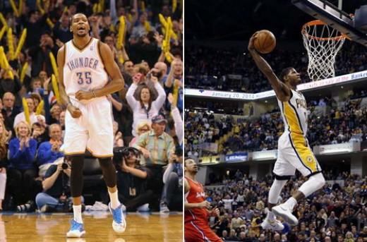 انتخاب پاول جرج و کوین دورانت به عنوان بازیکنان هفته NBA
