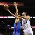 سن آنتونیو اسپرز فینال کنفرانس غرب NBA در سال 2014 را با پیروزی آغاز کرد