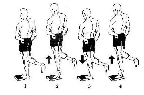بالا کشیده بدن روی ساق