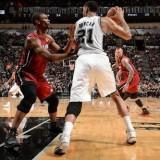 اولین مسابقه فینال بسکتبال NBA در سال 2014