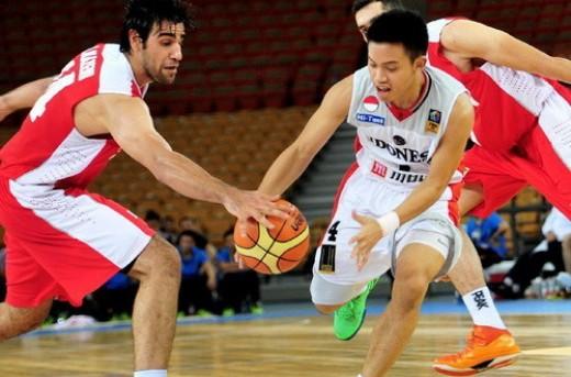 نتایج مسابقات بسکتبال کاپ آسیا در 13 جولای 2014