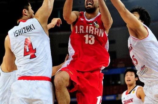 تیم بسکتبال ایران مسابقات کاپ آسیا را با پیروزی آغاز کرد
