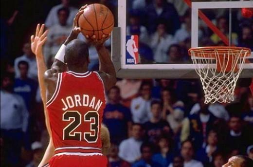 مسابقهی 69 امتیازی مایکل جردن