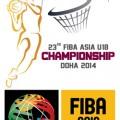 بیست و سومین دورهی مسابقات بسکتبال قهرمانی جوانان آسیا - دوحه 2014