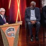 دیوید استرن و آلونزو مورنینگ وارد تالار مشاهیر بسکتبال شدند