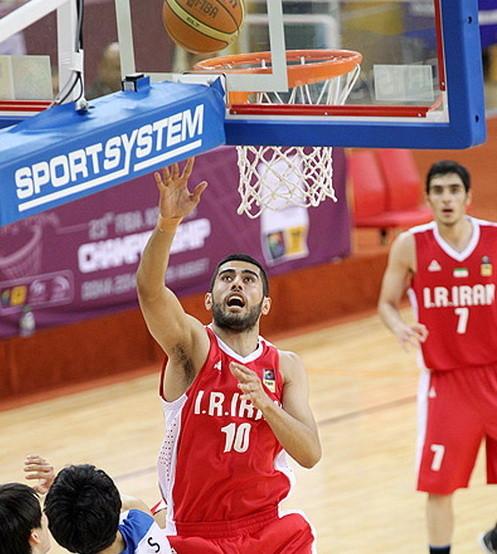 نتایج نیمه نهایی بسکتبال قهرمانی جوانان آسیا در سال 2014