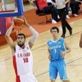 پیروزی ایران مقابل قزاقستان در مسابقات بسکتبال قهرمانی جوانان آسیا 2014