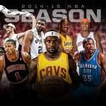 برنامهی فصل 2014-15 لیگ NBA منتشر شد