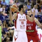 شکست تیم بسکتبال ایران برابر صربستان در جام جهانی اسپانیا