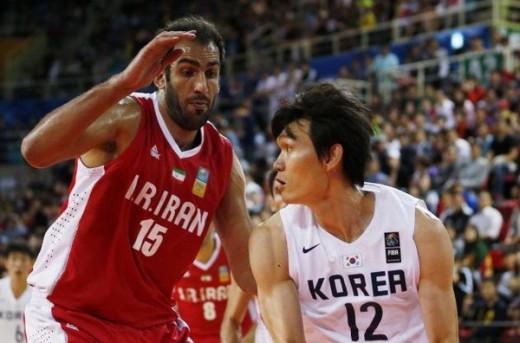 شکست تیم بسکتبال ایران مقابل کره جنوبی در فینال بازی های آسیایی اینچئون