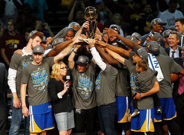 گلدن استیت قهرمان NBA