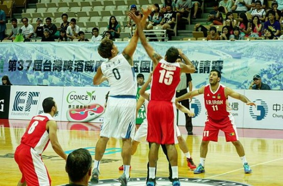 تیم بسکتبال ایران جام ویلیام جونز 2015 را با پیروزی آغاز کرد