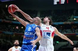 یک چهارم نهایی بسکتبال قهرمانی اروپا در پانزدهم سپتامبر 2015