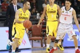 لیگ بسکتبال چین در هشتم ژانویه 2016