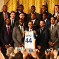 حضور واریورز در کاخ سفید و دیدار با باراک اوباما