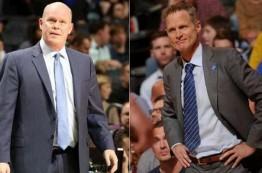 استیو کلیفورد و استیو کر بهترین مربیان NBA در مارس 2016 لقب گرفتند