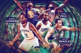 تیم های اول و دوم دفاعی فصل 2015-16 ان بی ای معرفی شدند