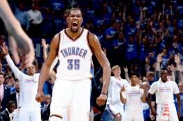 اکلاهما سیتی تاندر به فینال کنفرانس غرب NBA در سال 2016 راه یافت
