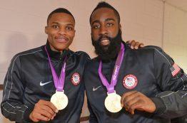 راسل وستبروک و جیمز هاردن در المپیک ریو حضور نخواهند داشت
