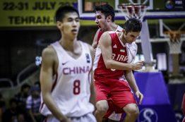 نتایج مرحله یک چهارم نهایی بسکتبال قهرمانی جوانان آسیا 2016