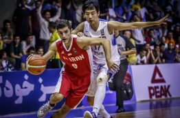 نتایج نیمه نهایی بسکتبال قهرمانی جوانان آسیا 2016