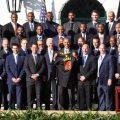 حضور کلیولند کولیرز در کاخ سفید و دیدار با باراک اوباما