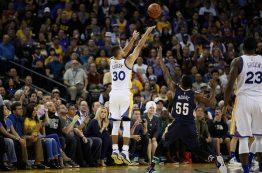 رقابت های NBA در 7 نوامبر 2016؛ پیروزی گلدن استیت با رکوردشکنی استفن کری