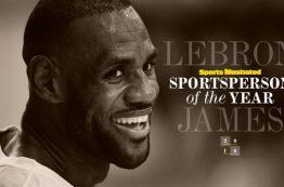 لبران جیمز عنوان شخصیت ورزشی سال 2016 اسپرت ایلاستریتد را کسب کرد